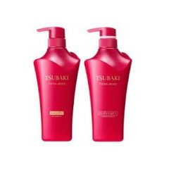 Bộ Dầu Gội Shiseido Tsubaki Đỏ