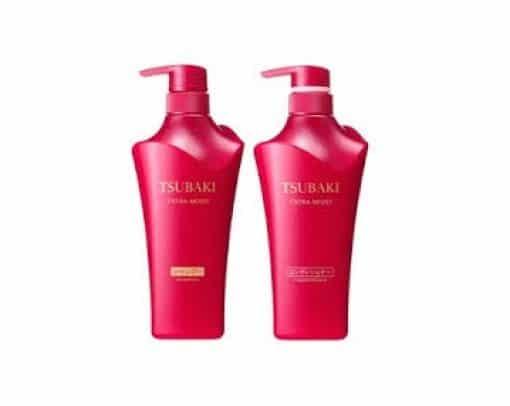 Bộ Dầu Gội Shiseido Tsubaki Đỏ 1