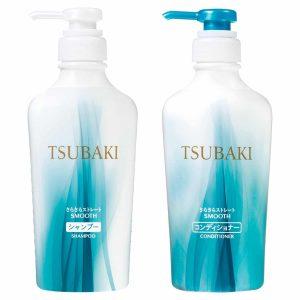 dau goi tsubaki mau trang xanh smooth