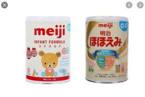 Sữa Meiji 0-1 có mấy loại ?