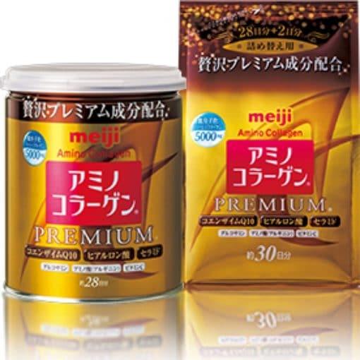 Collagen Meiji vàng dạng bột premium 3