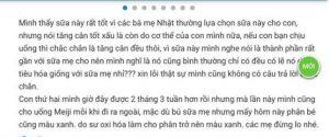 Sữa meiji thanh 1-3 review webtretho