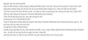 Transino Whitening Day Protector Review Webtretho