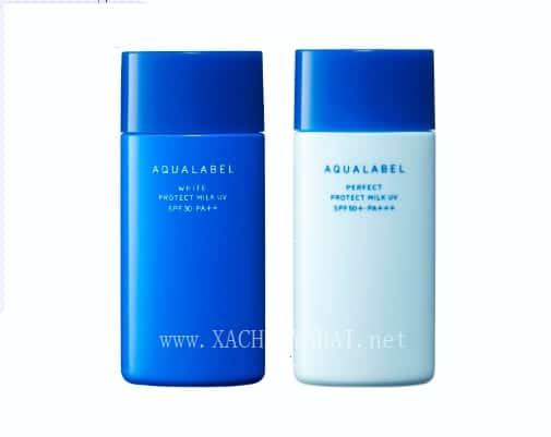 REVIEW bộ dưỡng da Shiseido Aqualabel nội địa Nhật Bản 4