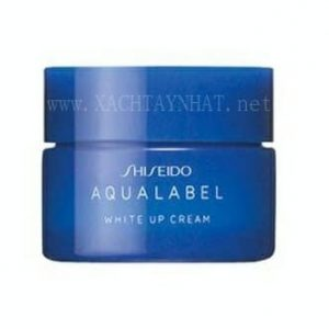 Kem dưỡng shiseido aqualabel xanh white up cream