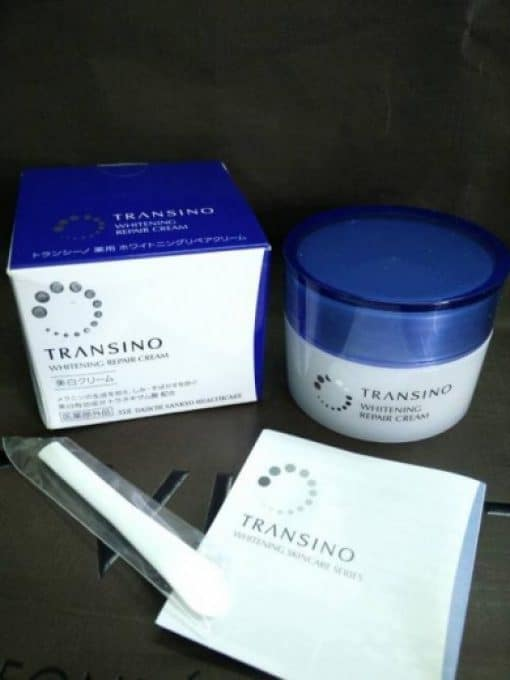 Kem đêm transino Whitening Repair Cream 35gr 4