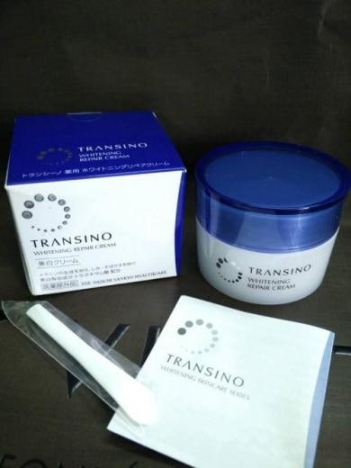 Review về kem dưỡng ẩm trị nám, trắng da Transino sau 7 ngày sử dụng. 2