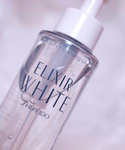 Dầu Tẩy trang Elixir Shiseido WHITE CLEANING OIL 6