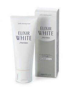 Sữa rửa mặt Shiseido Elixir White purify Claening Foam