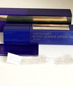 Huyết thanh chống lão hóa Revital Shiseido Wrinklelift Retino Science Lotion AA 5