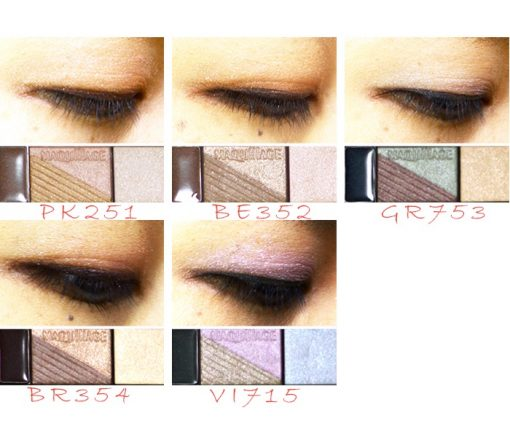 Phấn mắt Shiseido maquillage True Eye Shadow 5