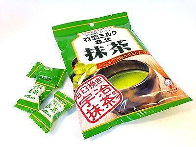 Kẹo sữa trà xanh matcha 8.2 Nhật bản 1