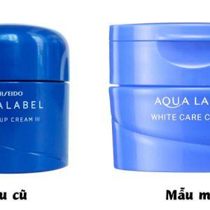 Kem dưỡng Shiseido Aqualabel 50gr màu xanh, đỏ, vàng Nhật Bản 3