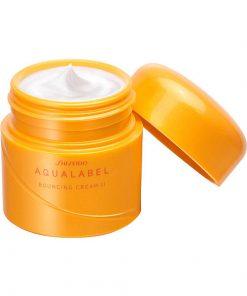 Kem dưỡng Shiseido Aqualabel 50gr màu xanh, đỏ, vàng Nhật Bản 11