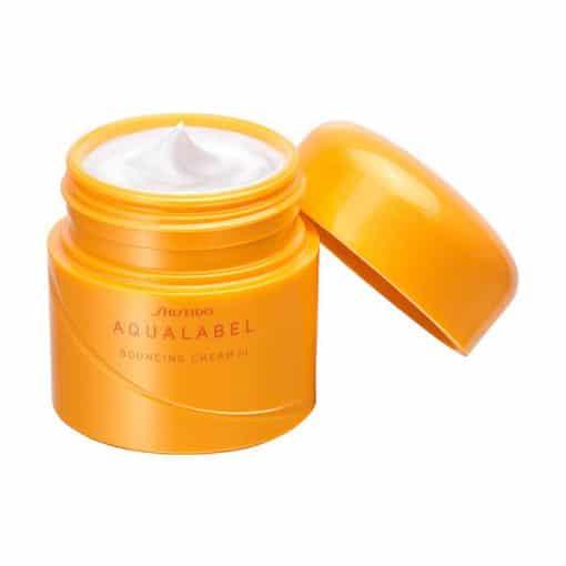 Kem dưỡng Shiseido Aqualabel 50gr màu xanh, đỏ, vàng Nhật Bản 6