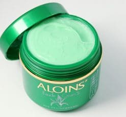 Review - Kem lô hội nhật bản aloins eaude cream s, có bôi mặt được không? 8