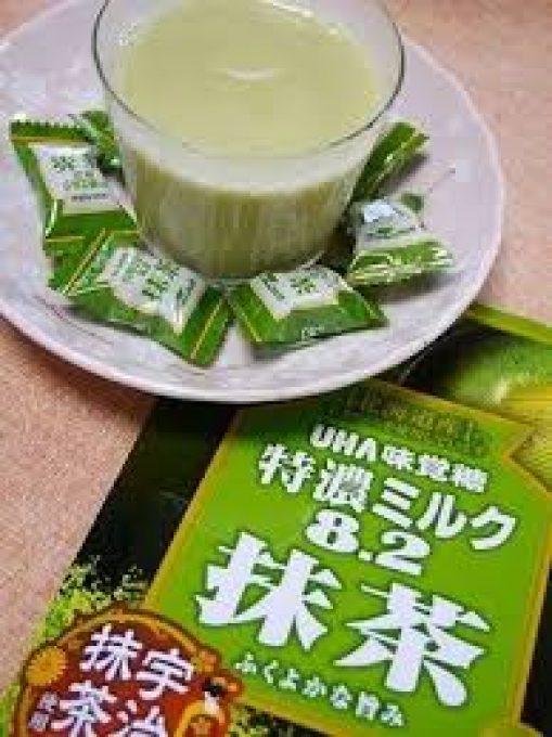 Kẹo sữa trà xanh matcha 8.2 Nhật bản 4