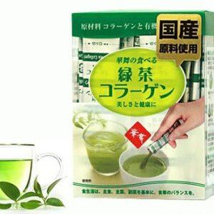 Collagen Hanamai (chiết xuất trà xanh, da cá,da heo)