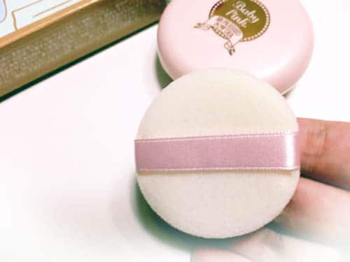 Phấn Baby Pink Mineral pressed powder 5