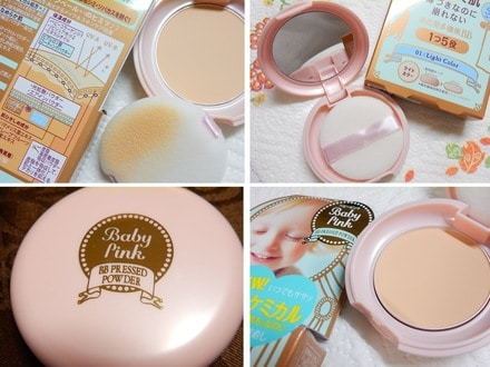 Phấn Baby Pink Mineral pressed powder 4