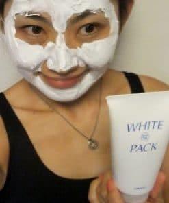 Mặt nạ ủ trắng da Utena White Pack của Nhật 6