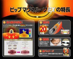 Vòng điều hòa huyết áp PIP Magneloop Nhật Bản 5