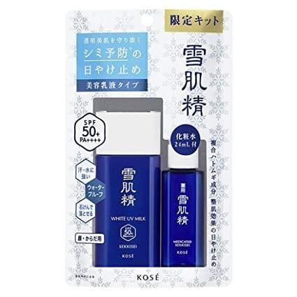Kem Chống nắng KOSE Sekkisei milk tang gift lotion