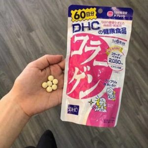 Review collagen DHC 60 ngày
