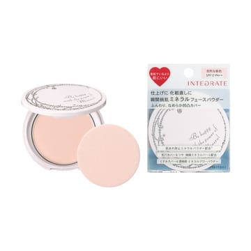 Shiseido integrate mineral finish powder