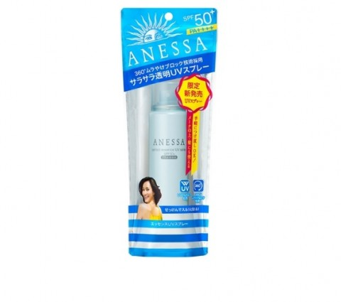 anessa shiseido spray