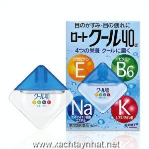 Thuốc nhỏ mắt Rohto Nhật bản Vita 40 bổ xung vitamin (12ml)