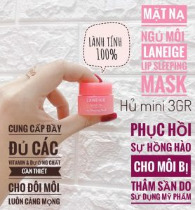 mat na cho moi LANEIGE LIP SLEEPING MASK