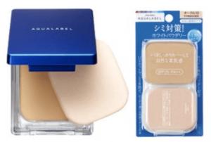 Phấn aqualabel shiseido Nhật bản dạng nén (hộp +ruột) 1