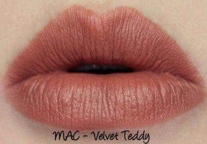 Son Mac màu cam đất Mac Velvet Teddy
