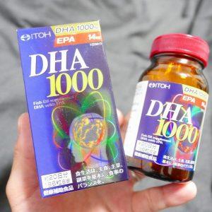 Viên uống bổ não DHA 1000mg Nhật Bản DHA&EPA 14mg ITOH 120 viên 4