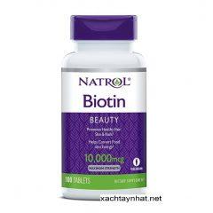 Thuốc mọc tóc Biotin Mỹ