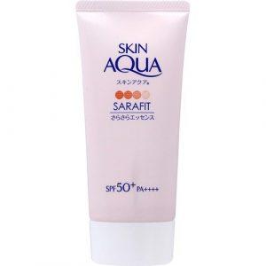 Kem chống nắng ROHTO Skin Aqua Sarafit Nhật Bản màu hồng