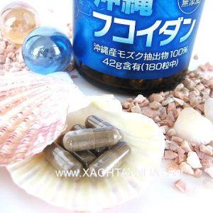Viên uống tảo Fucoidan Okinawa phòng chống ung thư Nhật Bản 11