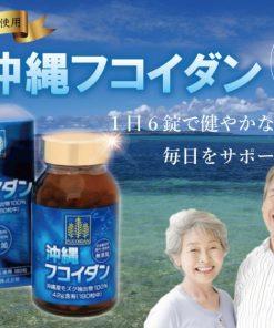 Viên uống tảo Fucoidan Okinawa phòng chống ung thư Nhật Bản 9