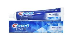 Kem đánh răng Crest 3D White Advanced Whitening 170g