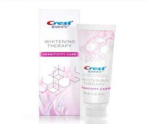 Kem đánh răng Crest 3D White Whitening Therapy Sensitivity Care 116g