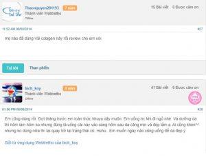 Review VB collagen webtretho