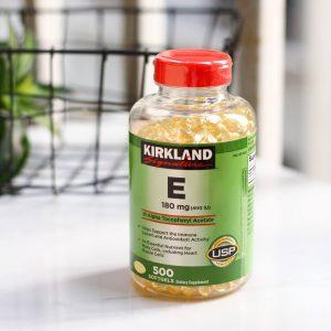 Viên uống vitamin E có công dụng gì?