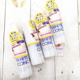 hướng dẫn sử dụng kem dưỡng trắng White Conc Watery Cream