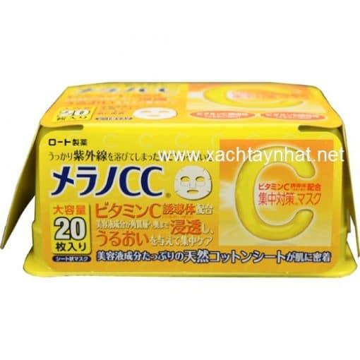 Mặt nạ CC Melano vitamin C làm trắng trị thâm nám 3