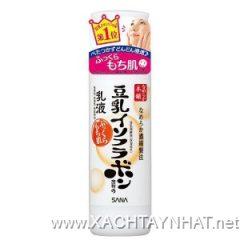 Sữa dưỡng SANA, emulsion SANA Nameraka Isoflavone Facial