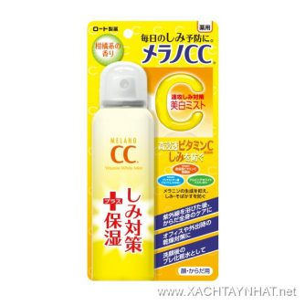 Xịt Khoáng dưỡng da CC melano 1