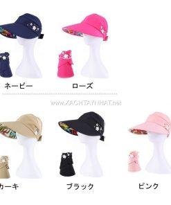Mũ Chống nắng Nhật bản, Các kiểu nón chống nắng tia uv đẹp 17