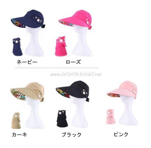 Mũ Chống nắng Nhật bản, Các kiểu nón chống nắng tia uv đẹp 10