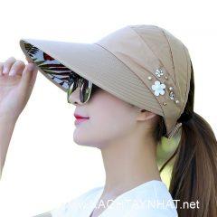 Mũ Chống nắng Nhật bản, Các kiểu nón chống nắng tia uv đẹp
